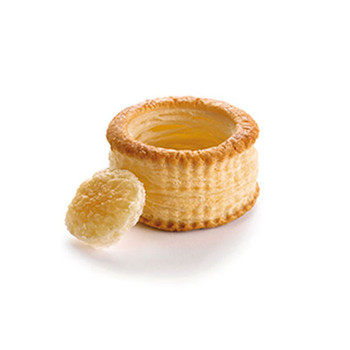 Pidy Maxi 9.5cm Round Vol-Au-Vent With Seperate Lid