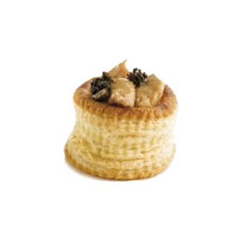 Pidy Maxi 9.5cm Round Vol-Au-Vent Filled