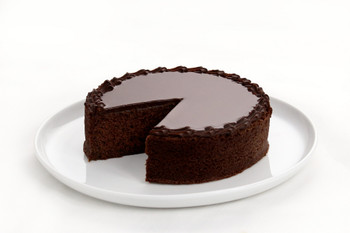 Chocolate Cake Sliced