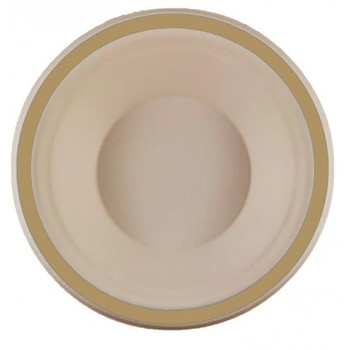 Eco Occasions Sugarcane Bowls 160mm Gold