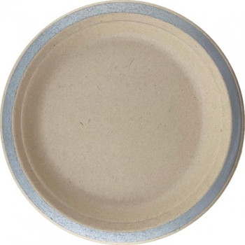 Eco Occasions Sugarcane Lunch Plates 180mm Silver