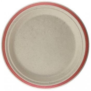 Eco Occasions Sugarcane Lunch Plates 180mm Rose Gold