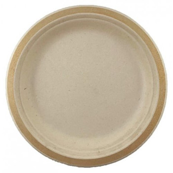 Eco Occasions Sugarcane Lunch Plates 180mm Gold