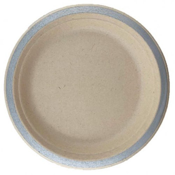 Eco Occasions Sugarcane Dinner Plates 230mm Silver
