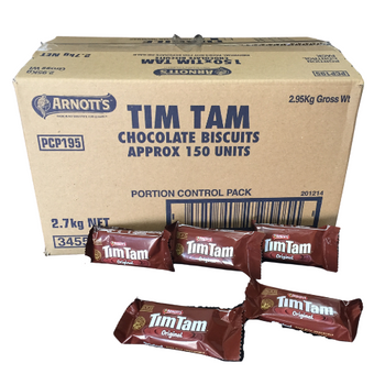 Arnott's Tim Tam Individually Wrapped Portions  150 Per Carton