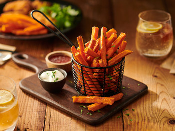 Edgell Australian Sweet Potato Chips 10mm Ultra Fast