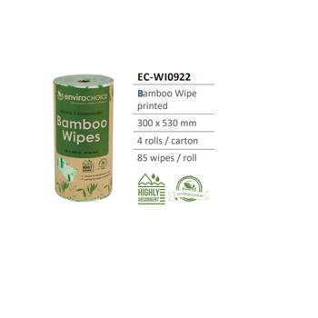 Natural Bamboo Wipes