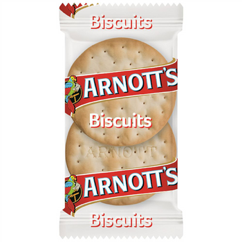 Arnotts Water Crackers Portion Control Twin Pack