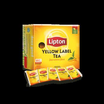 Lipton Individually Wrapped Envelope Tea Bags 100 Pack