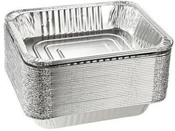 Medium Rectangle Foil Baking Tray