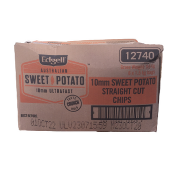 Edgell Australian Sweet Potato Chips 6 x 1.5kg Carton