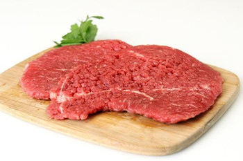 Tenderised Rump Minute Steak Raw