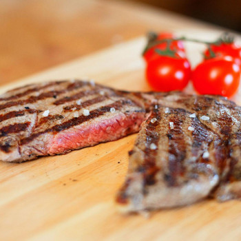 Tenderised Rump Minute Steak Cooked