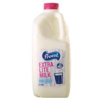 Procal Extra Lite Milk 2 litre