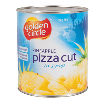 Golden Circle Pizza Cut Pineapple In Syrup A10 3kg