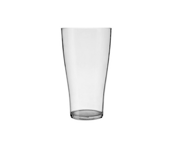 Crown Polycarbonate Middy Beer Glass 285ml