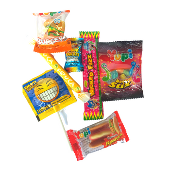Mixed Lolly Party Bag Assortment Example