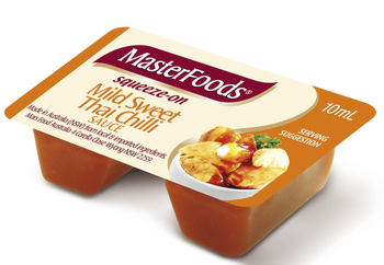 Masterfoods® Thai Sweet Chilli Sauce Squeezy Portions 100x11g