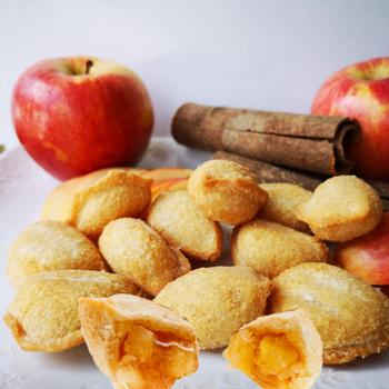 Golden Fan Apple Pie Bites