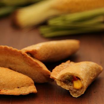 Golden Fan Vegetarian Empanada 25 Pack