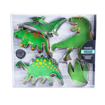 Jurassic Dinosaurs Cookie Cutter Set Of 5