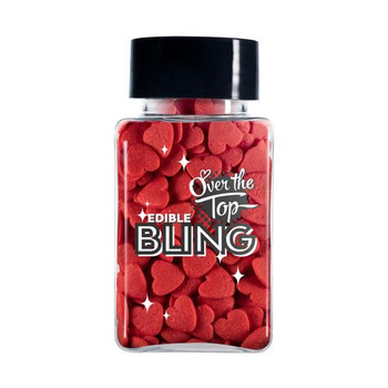 Edible Red Hearts 55g