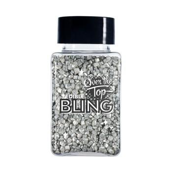 Edible Silver Pearl Sanding Sugar 80g