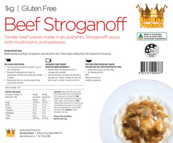 Rice King Beef Stroganoff 1kg