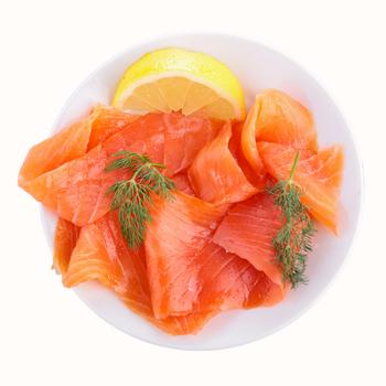 Fresh Tasmanian Smoked Salmon 1kg