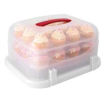 Avanti Universal Rectangle Cake Cupcake Carrier 24