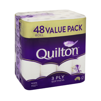 Quilton 3ply Toilet Paper 48 Pack