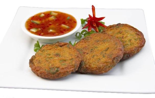 A&T Thai Fish Cakes 40Pk 1kg