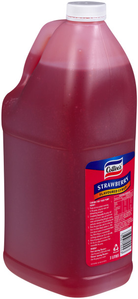 Cottee's Strawberry Topping 3 Litre