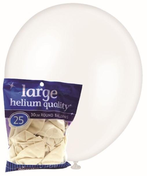 Balloons Decorator 25 Pkt- White