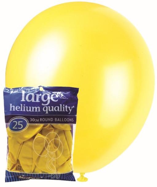 Balloons Decorator 25 Pkt- Yellow