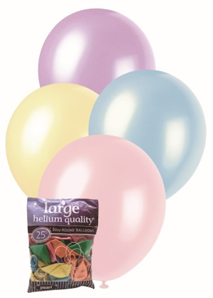 Balloons Pearl 25 - Assorted