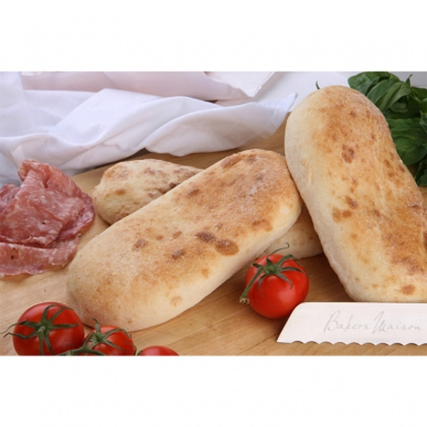 BREAD TURKISH OVAL 60 x 130g - (11815) BAKERS MAISON