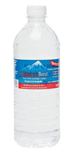 600ml Bottled Water 12 pack