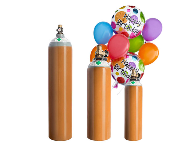 Helium gas tanks for hire blow up party balloons