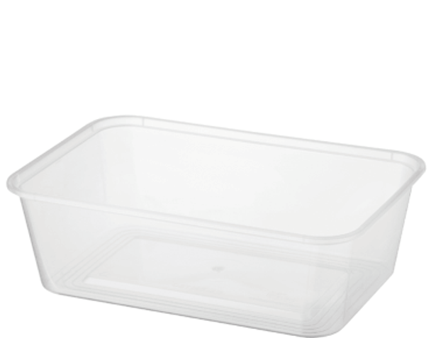 Rectangle Containers 750ml Carton 500