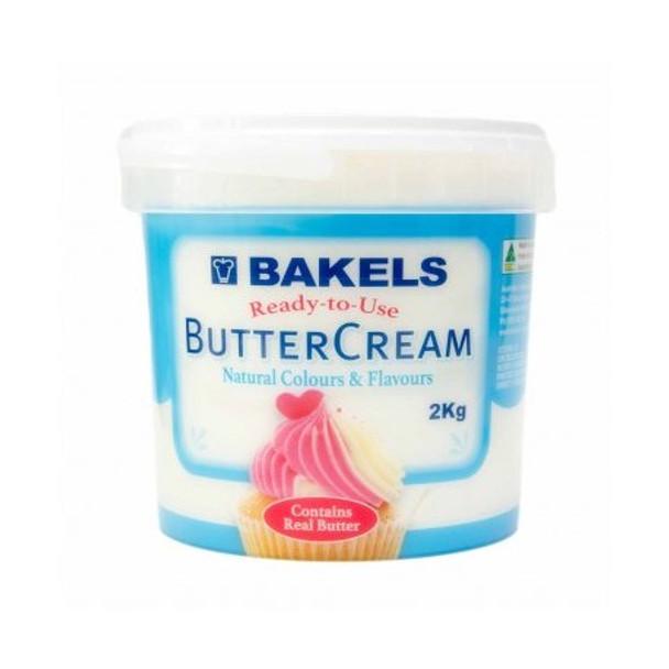 Bakels Vanilla Buttercream Icing 2kg Pail