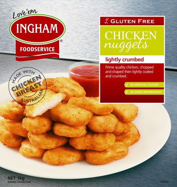 CHICKEN NUGGETS GLUTEN FREE 1kg
