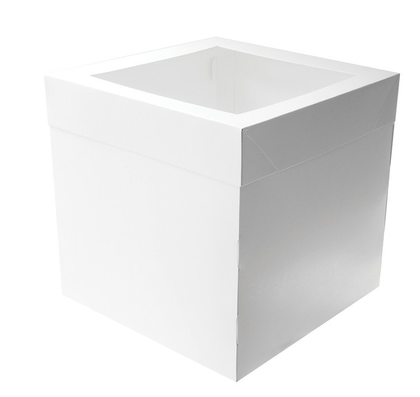 CAKE BOX 12in TALL 14 x 14in SQUARE