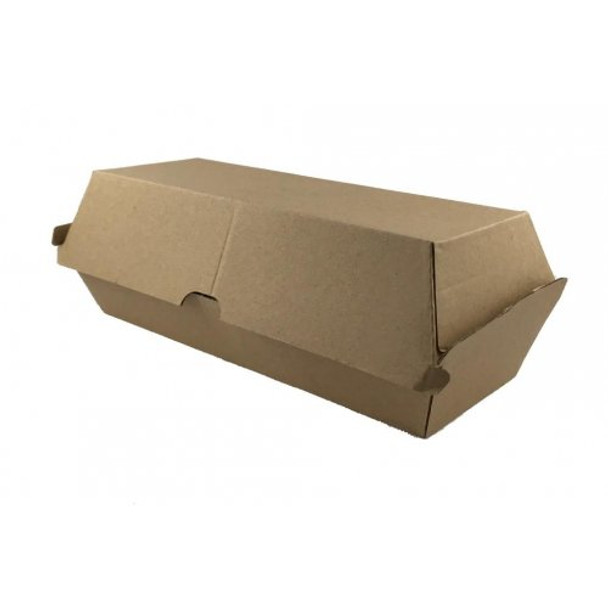 Kraft Takeaway Hot Dog Boxes - 50 Pack