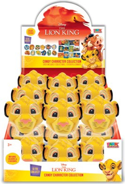 Lion King Candy Simba Head 10g - Each