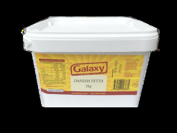 Galaxy Danish Fetta Cheese 2kg