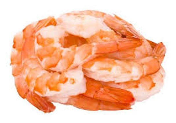 Cooked & Peeled Vannamei Prawns size 26/30 700g