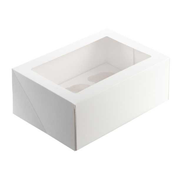 Cupcake Box 6 Hole