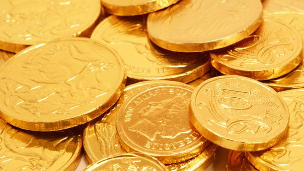 Milk Chocolate Australian Gold Coins