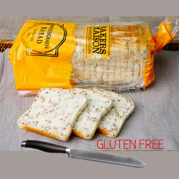 Bakers Maison Large Sliced Gluten Free Multigrain Bread 1260g